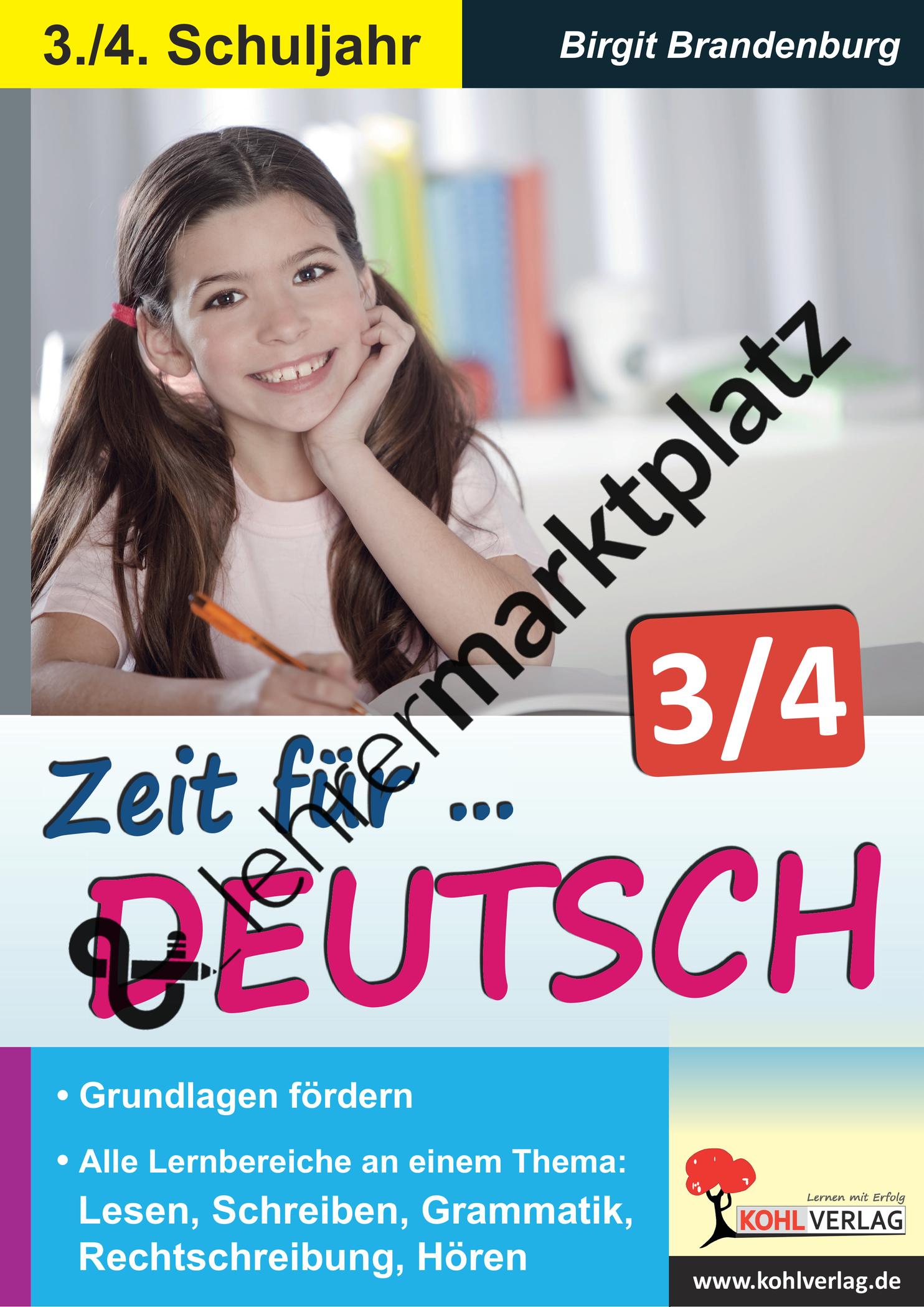 Zeit für Deutsch / Klasse 3-4