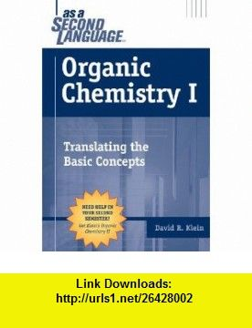 Organic Chemistry David Klein Pdf