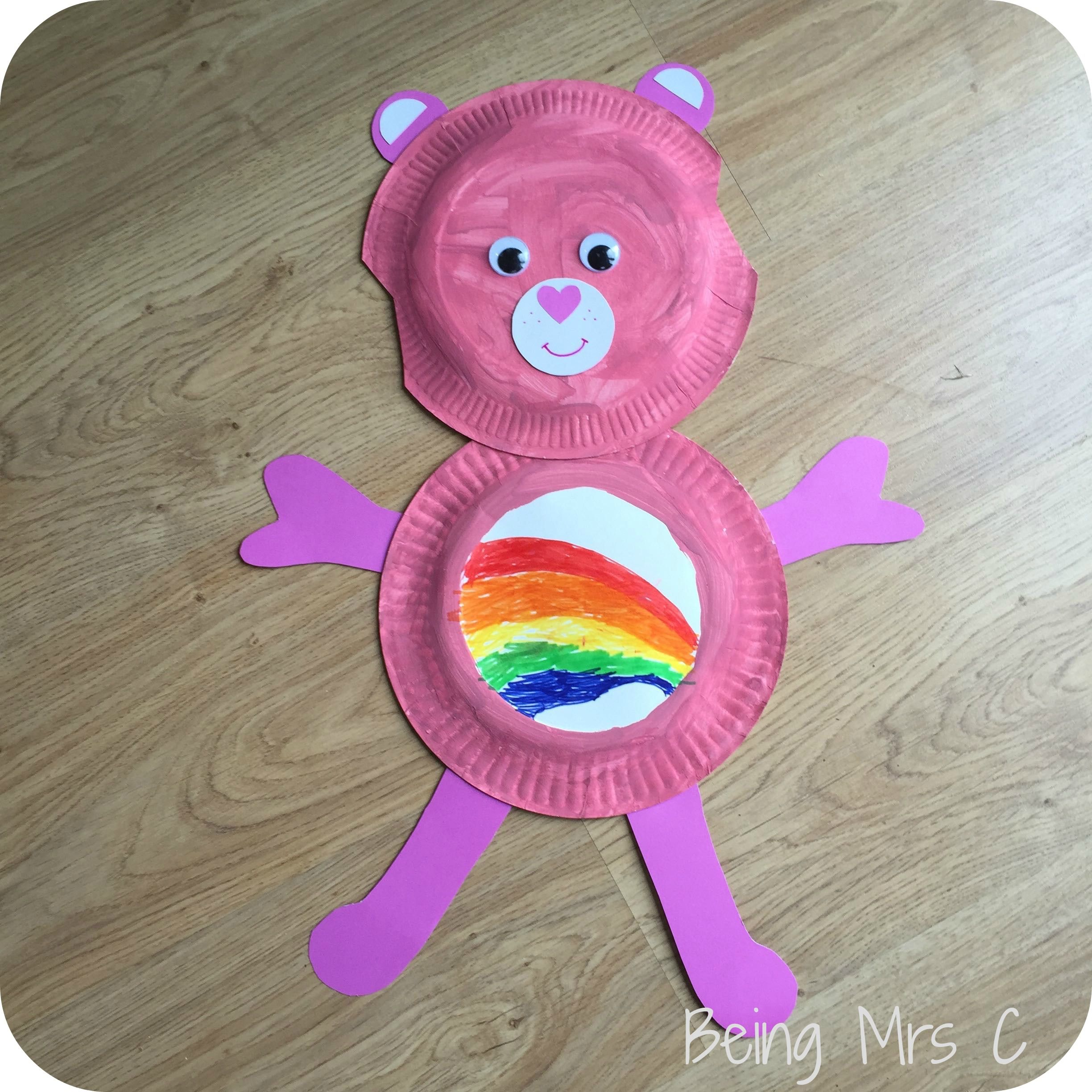 Paper-Plate-Care-Bear4.jpg (2448×2448) & Paper-Plate-Care-Bear4.jpg (2448×2448) | Never Grow up!! | Pinterest ...