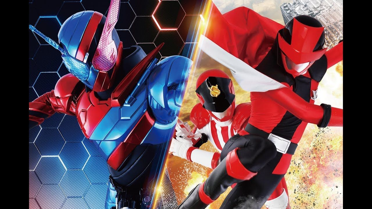 Kamen Rider Build The Movie And Kaitou Sentai Lupinranger
