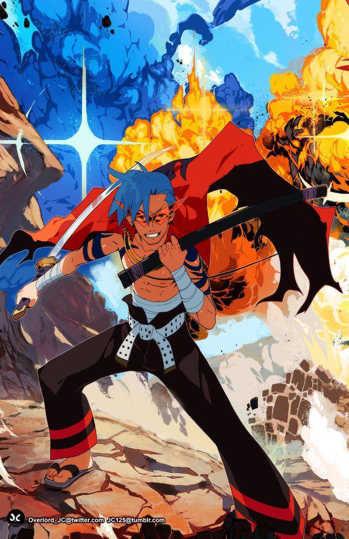 Swordsman Kamina by OverlordJC on DeviantArt Anime