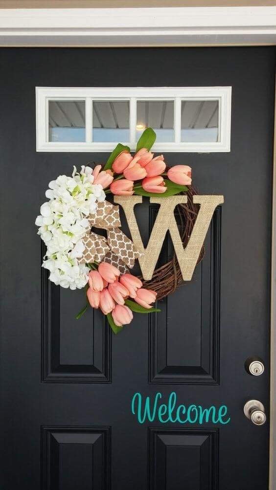 Sweetly Simple Summer Welcome Wreath 42 Summer