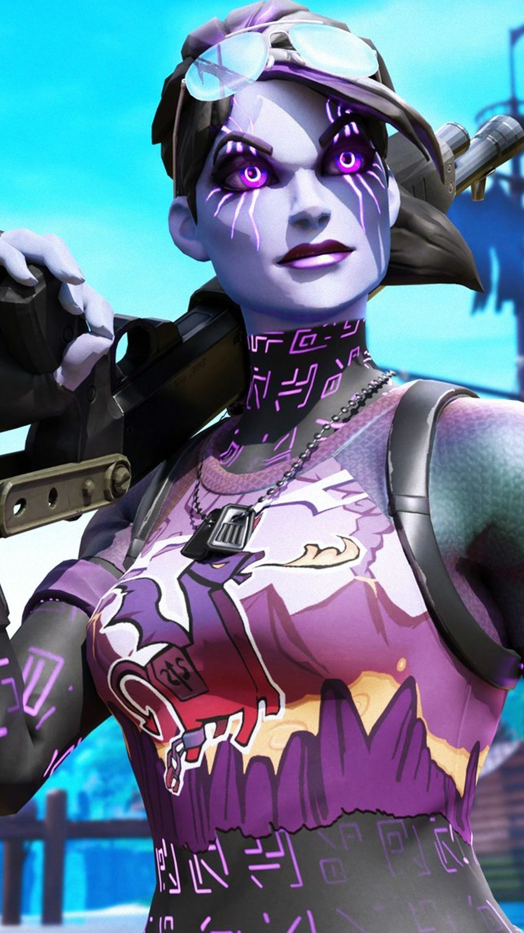 Dark Bomber Fortnite Skin Wallpaper Fortnite Fazesway