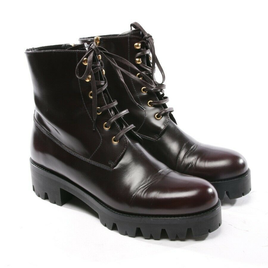 eBay #Sponsored PRADA Stiefeletten Gr. D 41 Rot Damen Boots