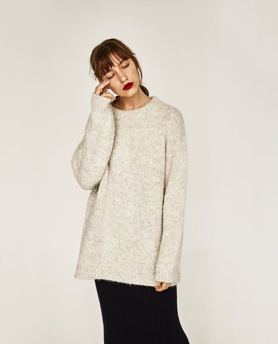 Image 4 of SOFT OVERSIZED SWEATER from Zara | quotidian ...