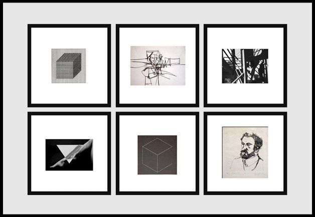 Image result for art gallery frames layout   How to hang things on a ...