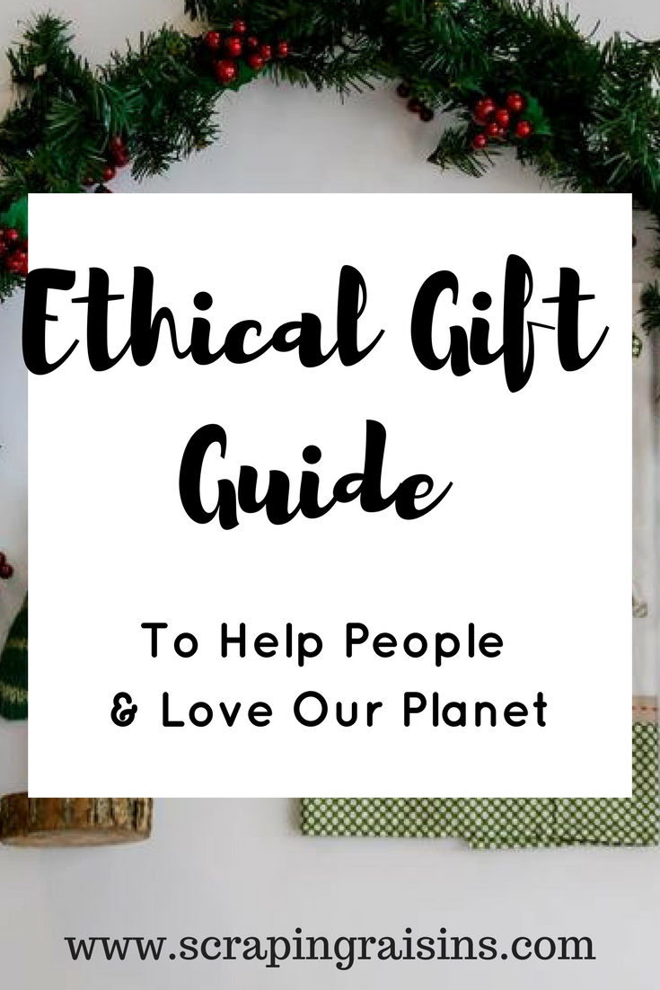 Ethical Gift Guide to Help People & Love Our Planet | GIFTS | The ...