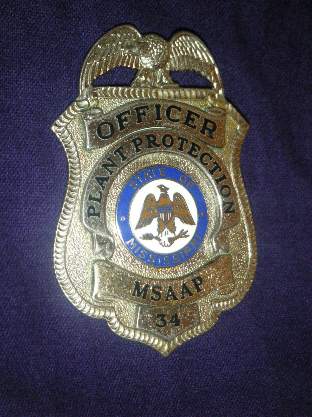 PLANT PROTECTION OFFICER, MSAAP (MISSISSIPPI ARMY AMMUNITION PLANT