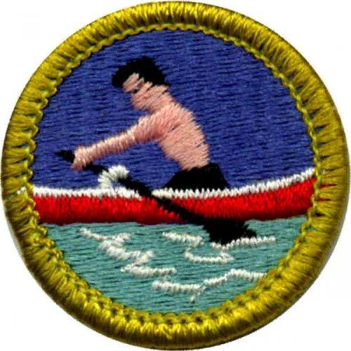 Rowing Merit Badge For Boy Scouts Merit Badge Scout Scout Badges