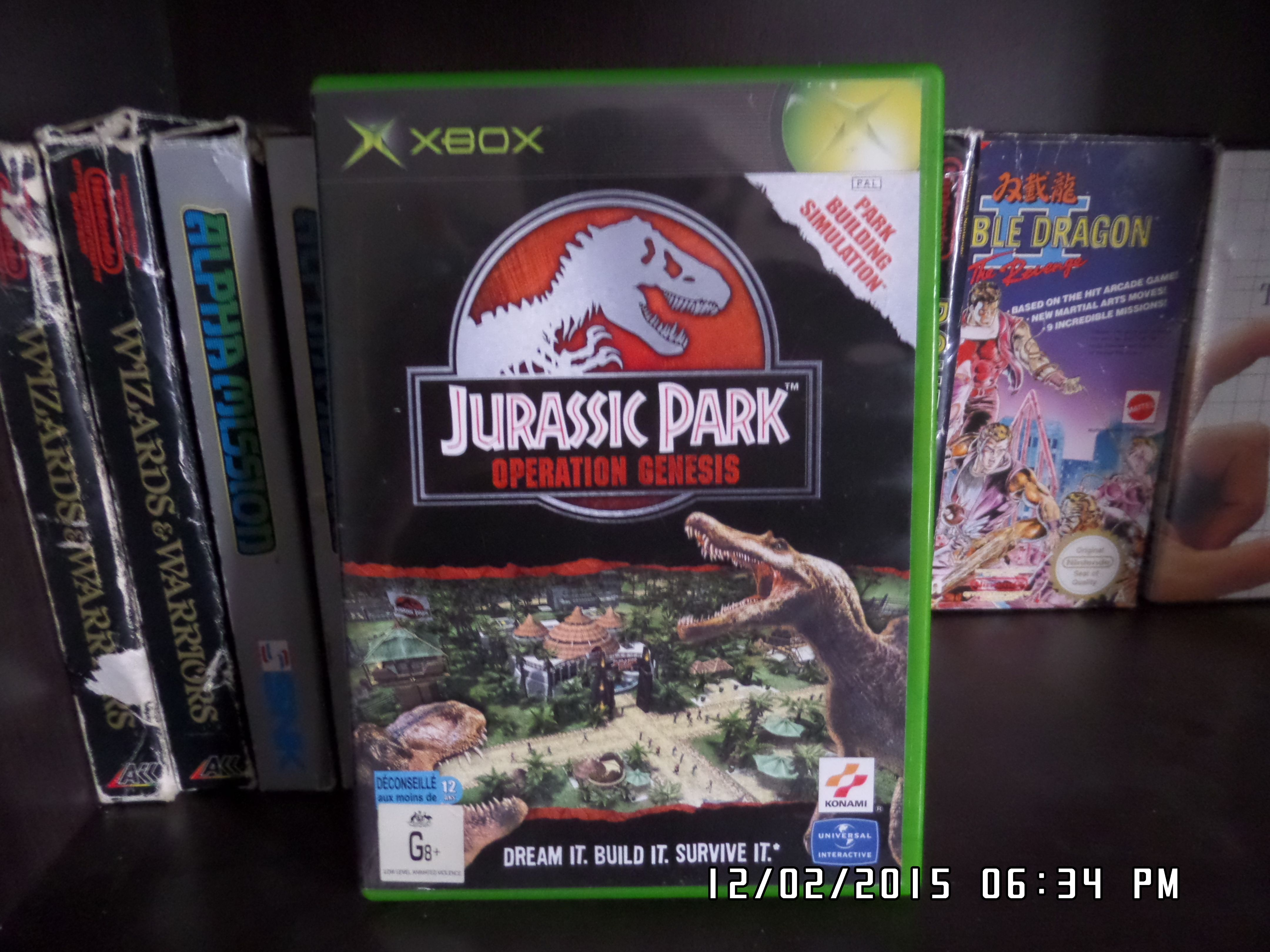 Jurassic Park Operation Genesis (2003) The player's main