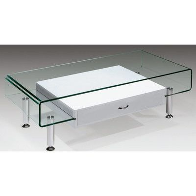 creative images international glass coffee table & reviews