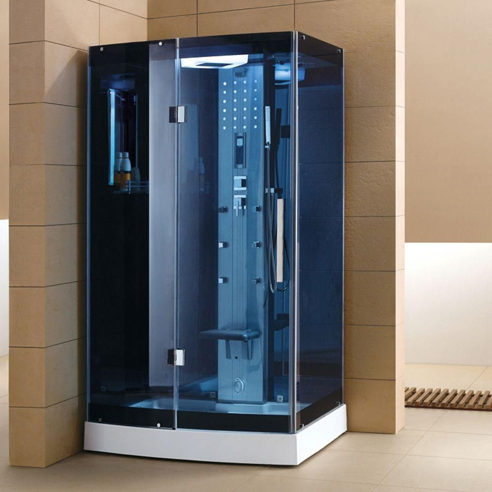Ariel Ws 300a 48 In X 36 In X 85 In Steam Shower Enclosure Kit