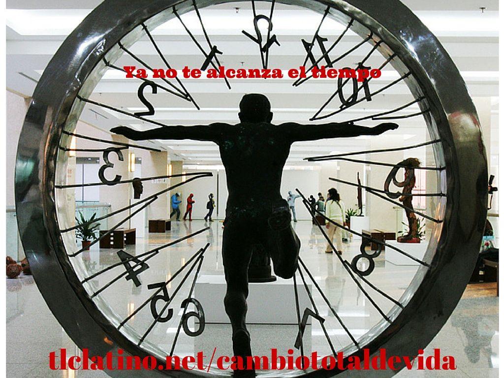 El dia tiene solo 24 horas: y ( conoces a alguien que viva asi?) Trabajas 8 -9 horas al dia... duermes otras 8 total: 17 horas ... Ya solo te quedan 7 horas para vivir ... http://www.tlclatino.net/cambiototaldevida