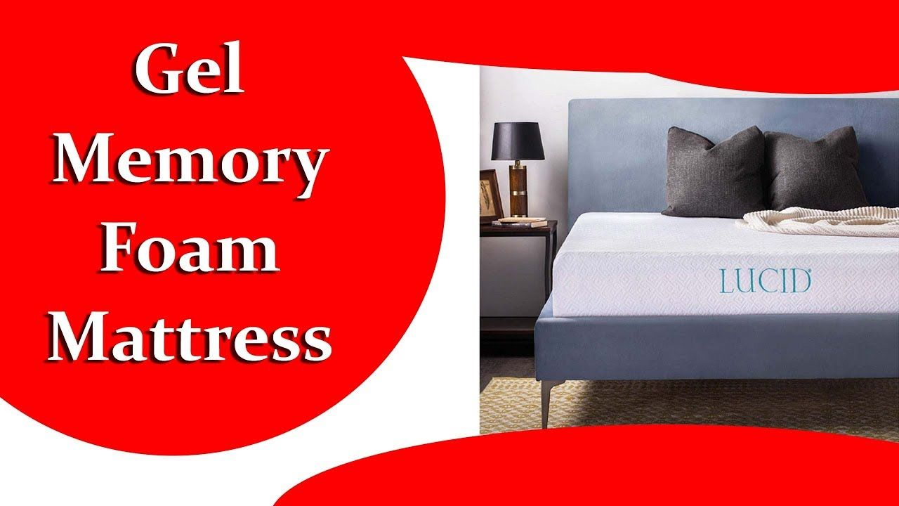 Best Lucid 10 Inch Gel Memory Foam Mattress 2019 Adjustable Bed