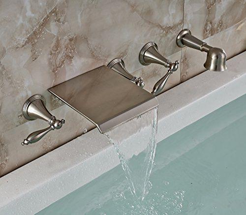 Robot Check Bathtub Faucet Waterfall Bathtub Faucet Tub Faucet