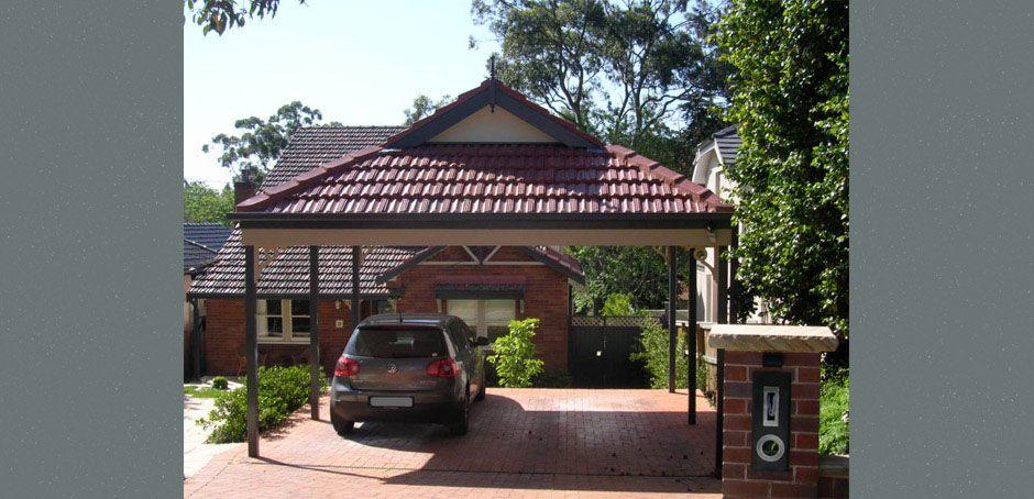 Carports At Outside Concepts Dutch Gable Roof Carport House Exterior