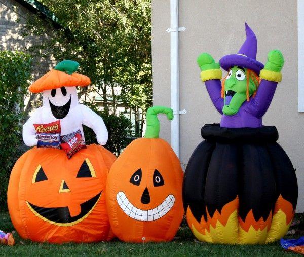 Halloween blow up yard decorations Halloween Pinterest Yard - inflatable halloween decoration