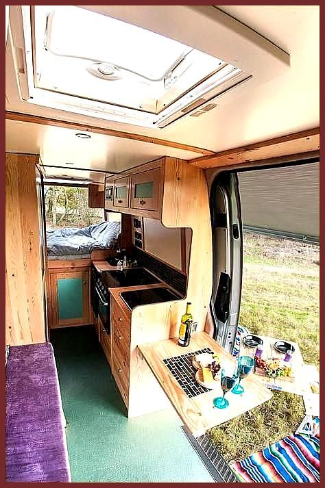 Angel Quirky Campers With an oven fridge running hot water toilet hot shower beds for 4 beautiful c