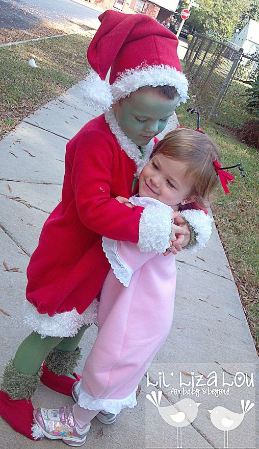 Grinch & Cindy Lou Who Halloween Costume Contest at