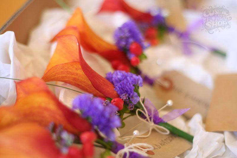 Cosmic Flower Shop: Vibrant