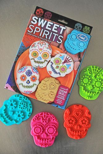 Sweet Spirits Day Of The Dead Cookie Cutters