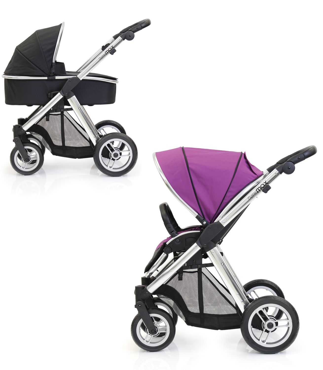 Oyster Pram Purple Buy Your Babystyle Oyster Max Pram Grape From Kiddicare