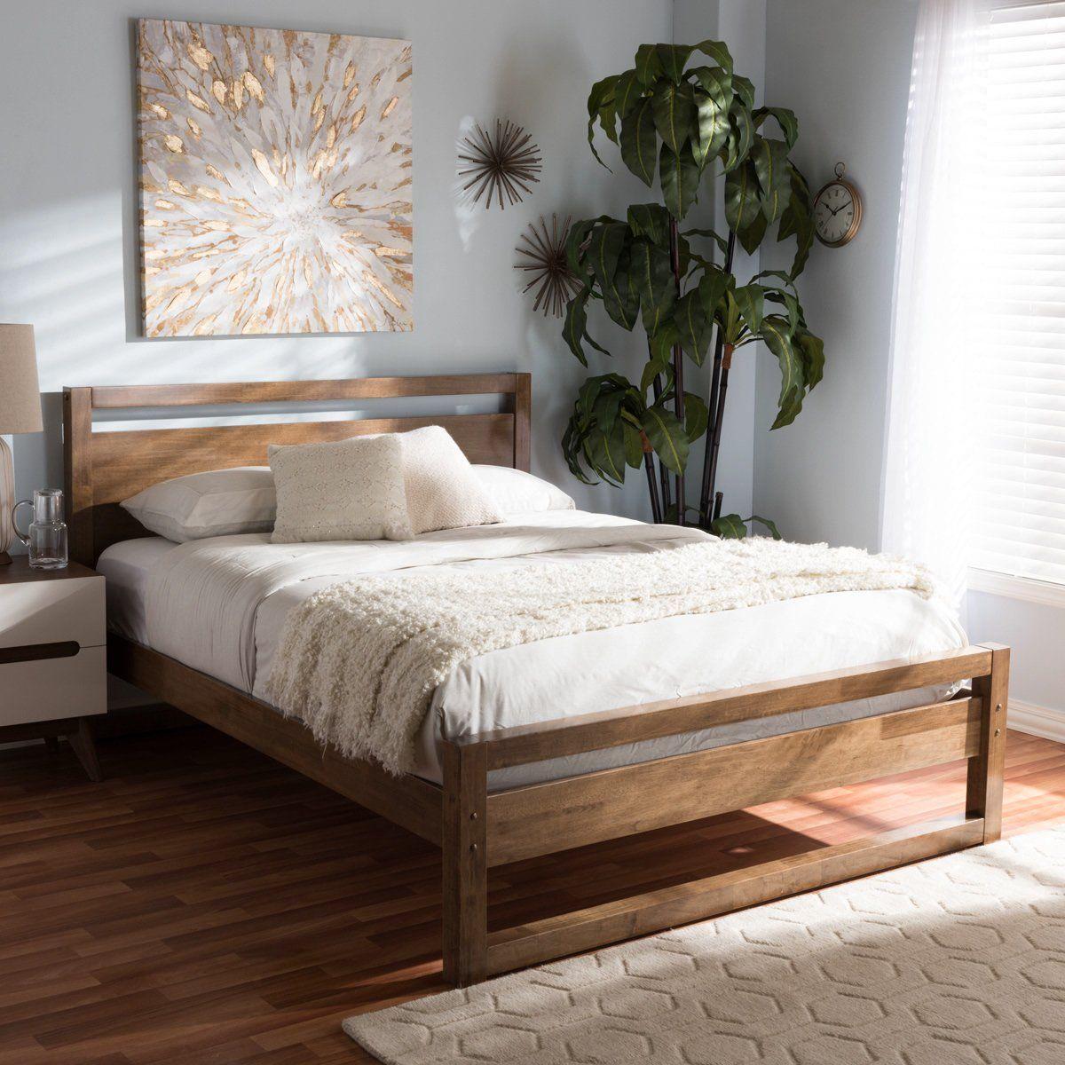 Best Baxton Studio Torino Mid Century Modern Solid Walnut Wood 400 x 300