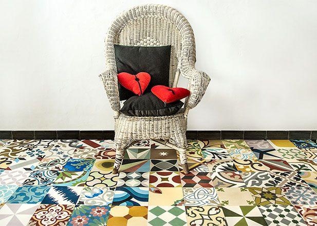 carreaux ciment mosaic del sur d co pinterest mosaic del sur ciment et carrelage de ciment. Black Bedroom Furniture Sets. Home Design Ideas
