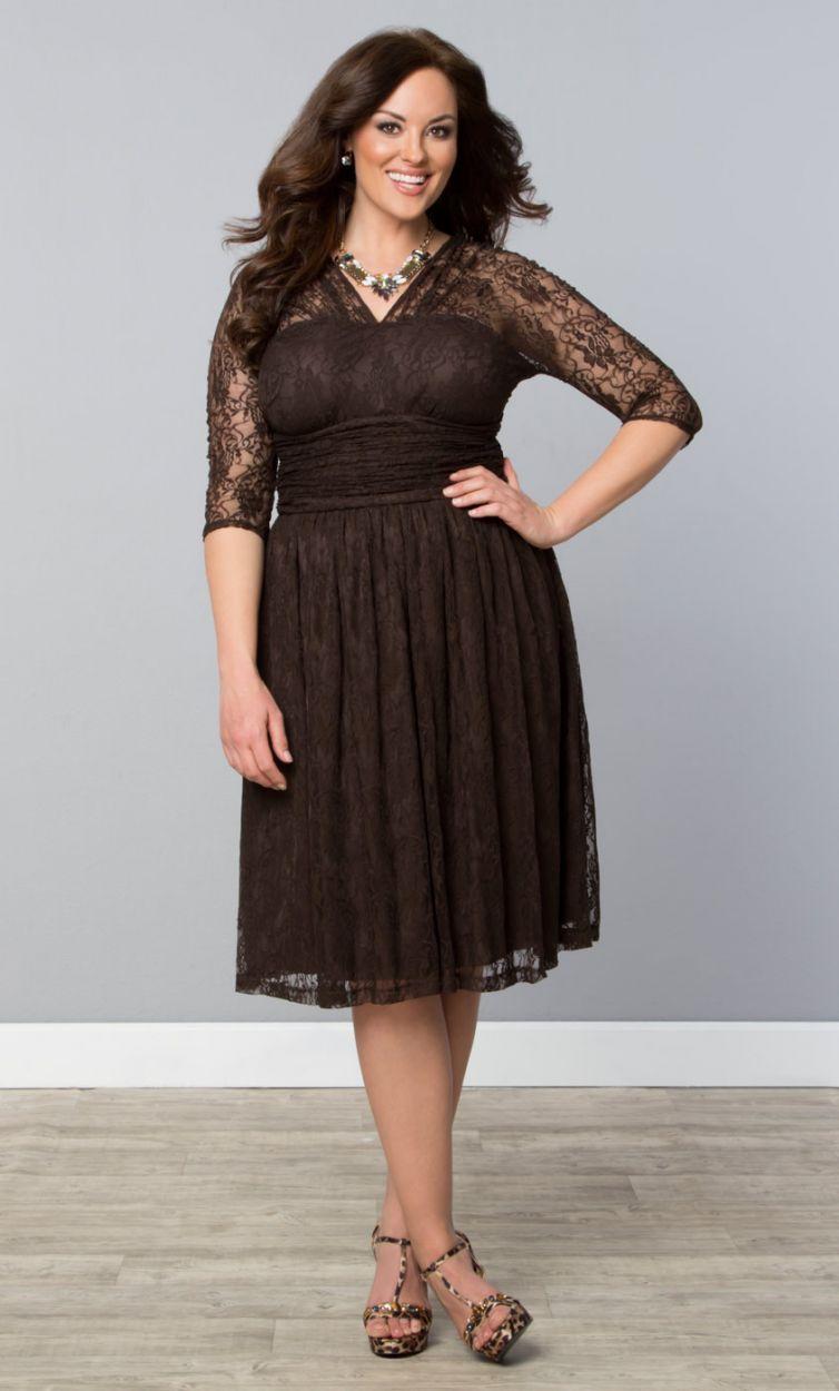 Swinging symphony dress dark truffle womens plus size from the swinging symphony dress dark truffle womens plus size from the plus size fashion ombrellifo Gallery