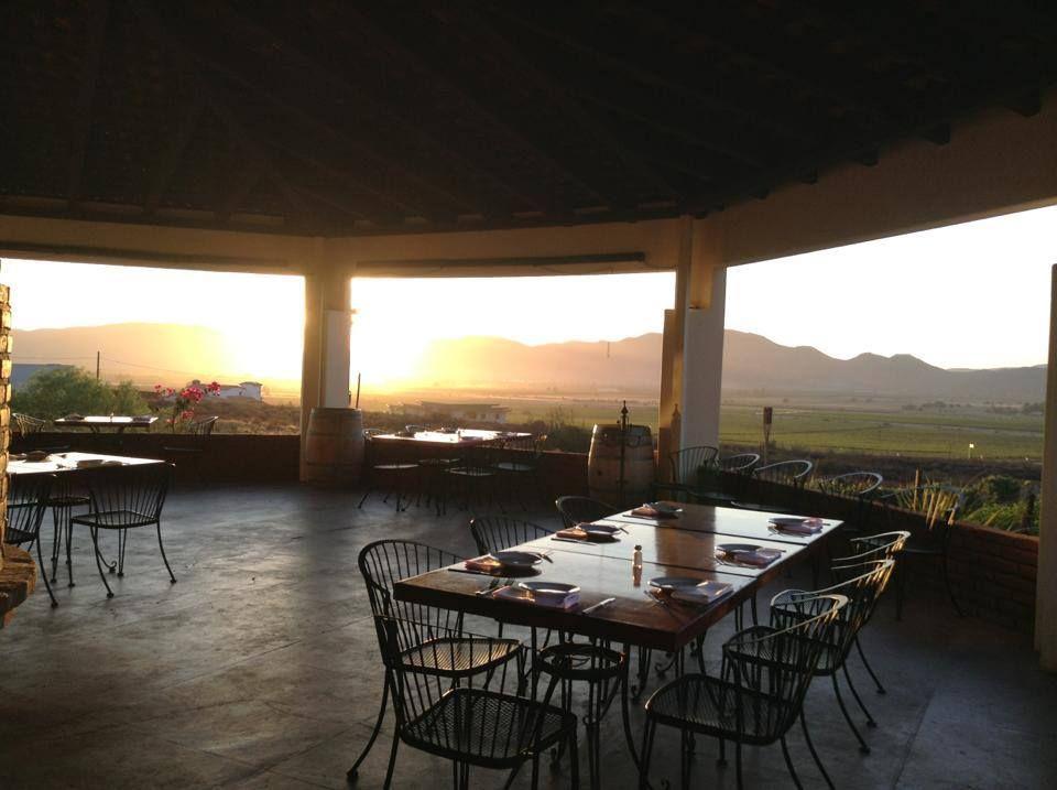 Terraza Restaurante Hacienda Guadalupe En El Valle De Guadalupe Terraza Haciendas Casas