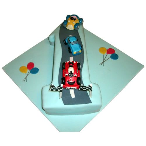 1st birthday cars cake for boys 1st Birthday Cake Ideas 1st