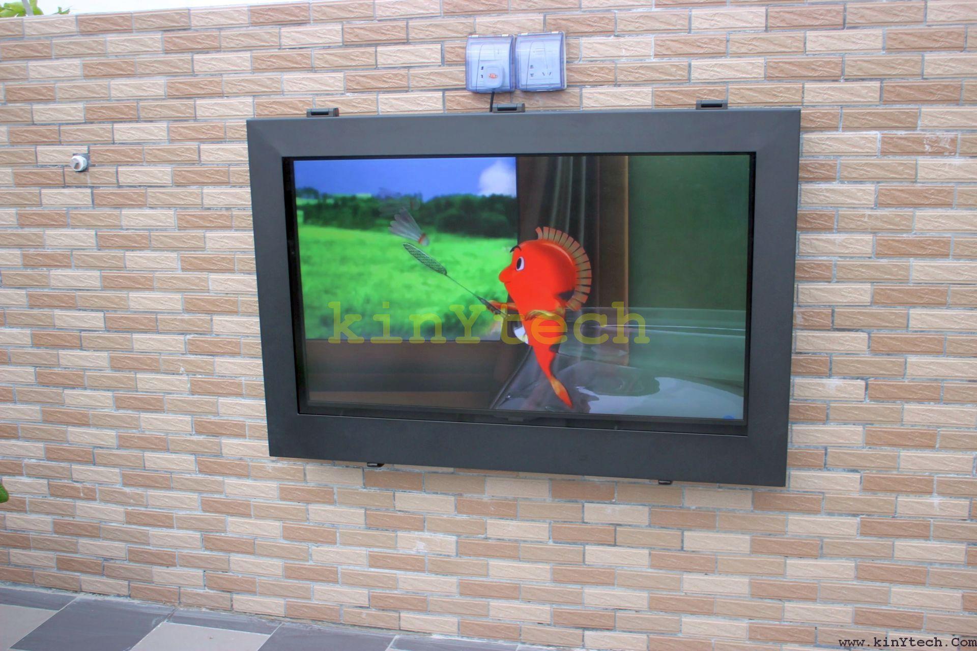 Outdoor Tv Cabinet Enclosure Mount