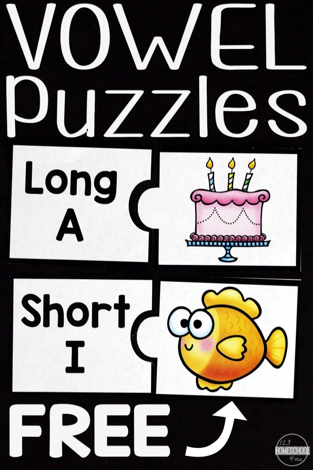 Vowels Puzzles