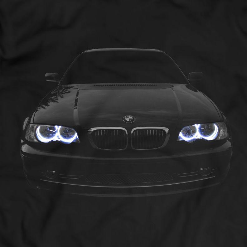 Bmw E46 Facelift T Shirt Angel Eyes Scheinwerfer Gluhen Mit
