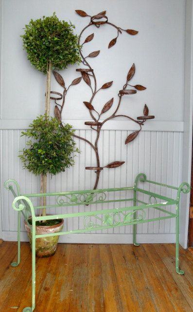 Metal Tree Shaped Plant Stand With Terra Cotta Pots I Want To
