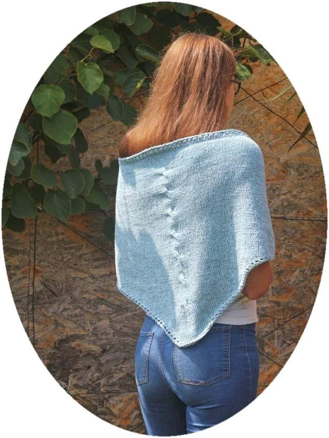 Photo of einfaches Tuch stricken