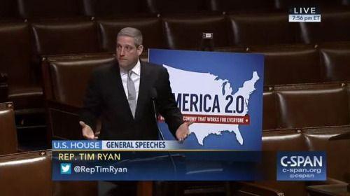 Who: Representative Tim Ryan (D-Ohio) When: February 2017 What:...