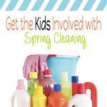 5 Ways Kids Can Help With Spring Cleaning #geniusmomtricks