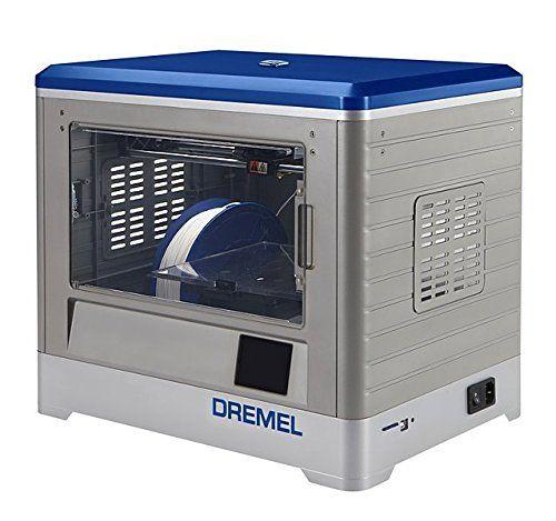Dremel 3D Drucker Idea Builder, Filamentspule Weiß, Stromkabel, USB Kabel,
