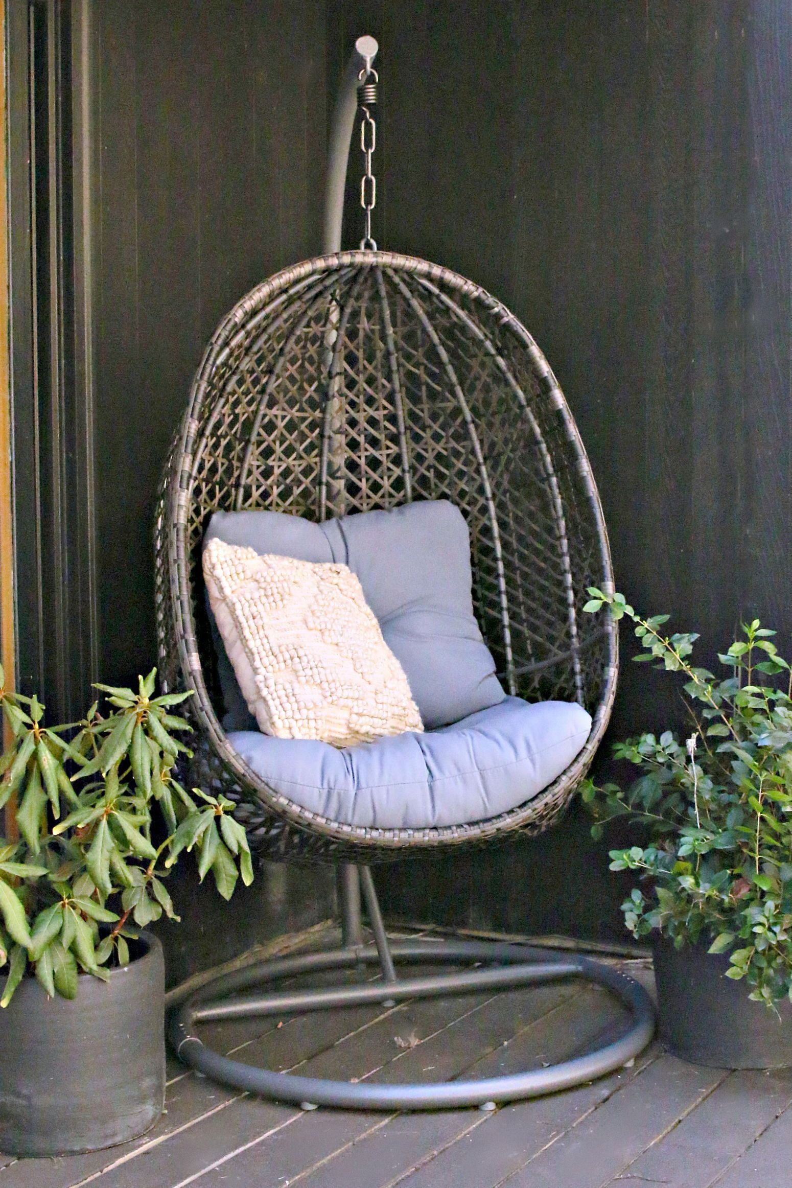 Hanging Chair With Stand, Hanging