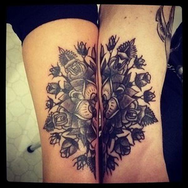 les plus beaux tatouages de couples l 39 amour dans la peau tatoo and tattoo. Black Bedroom Furniture Sets. Home Design Ideas