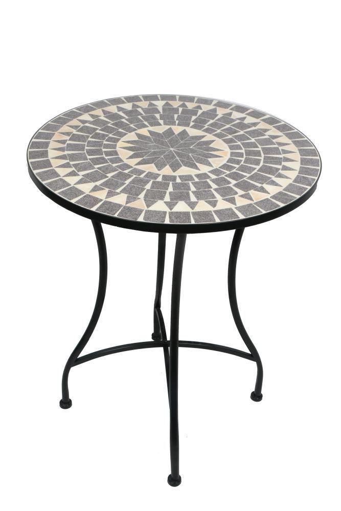 Trendline Tisch Bretagne Mosaik Couchtisch Metall Mosaik Tisch