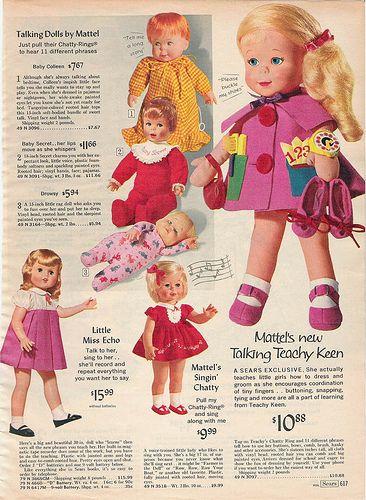 Sears 1966 Christmas Catalog page 617 | Vintage Doll, Bear