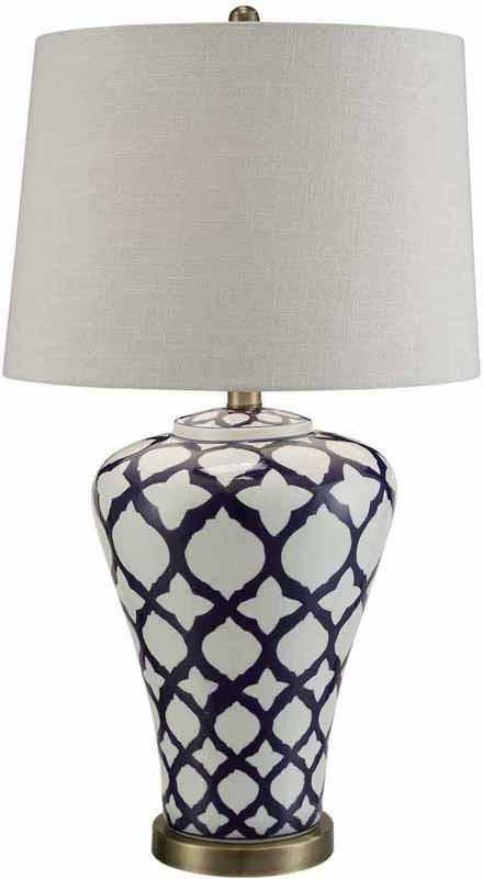 Crestview Collection CVAP1774 Cottace Table Lamp 15 X 17 X 12.5
