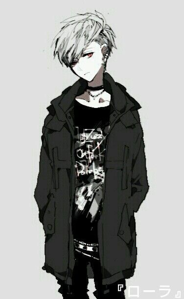The White Queen Mikoto Suoh Dark Anime Cute Anime Boy Anime People