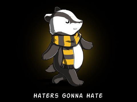 Badger Harry Potter parody shirt
