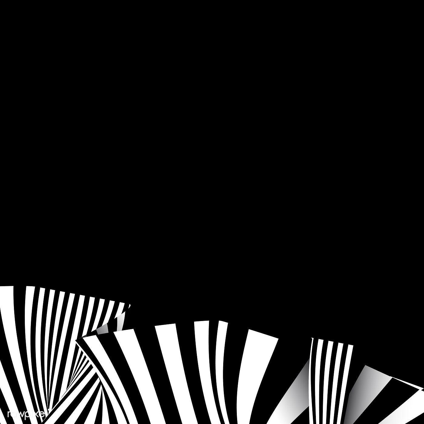 Download Premium Vector Of Black Abstract Background Design Vector