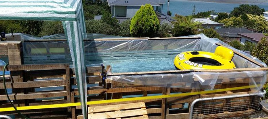 DIY Homemade Swimming Pool Gallery | Diy pool | Homemade ...