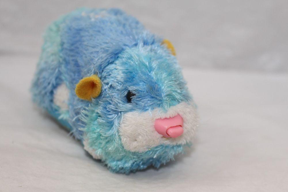Zhu Zhu Pet Hamster Sophie 6 8 Blue Works Perfect Zhuzhupets Pets For Sale Zhu Zhu Hamster