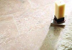 Travertine Filled Honed Floor Tile (40x61cm) £28.99 per metre
